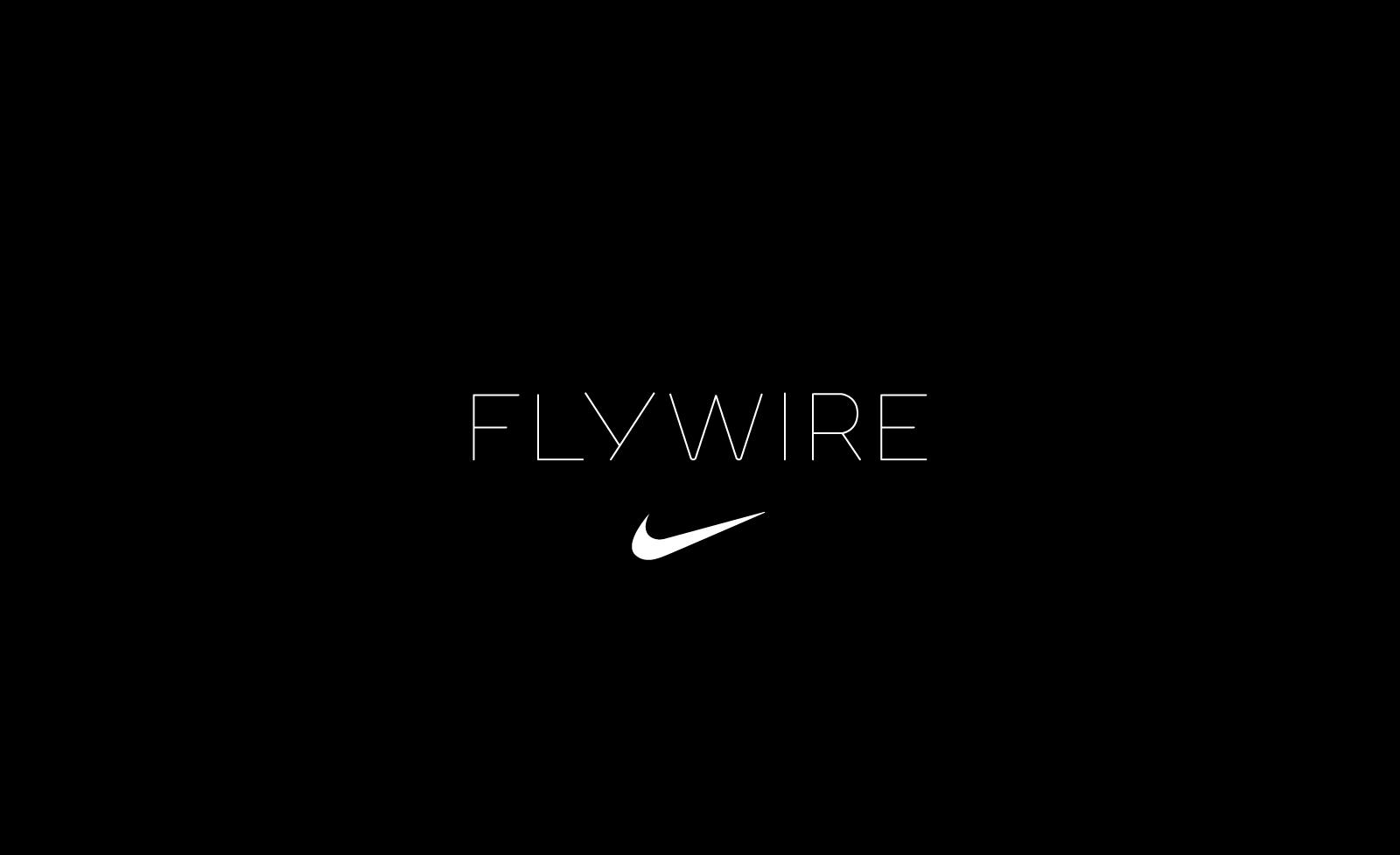 WeShouldDoItAll — Nike Flywire Technology