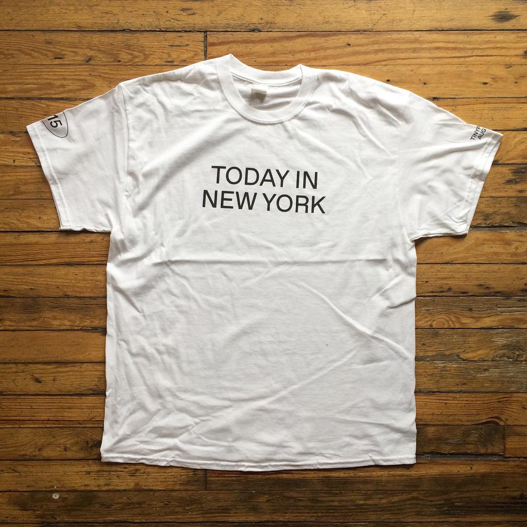 WeShouldDoItAll — Today in NY tee