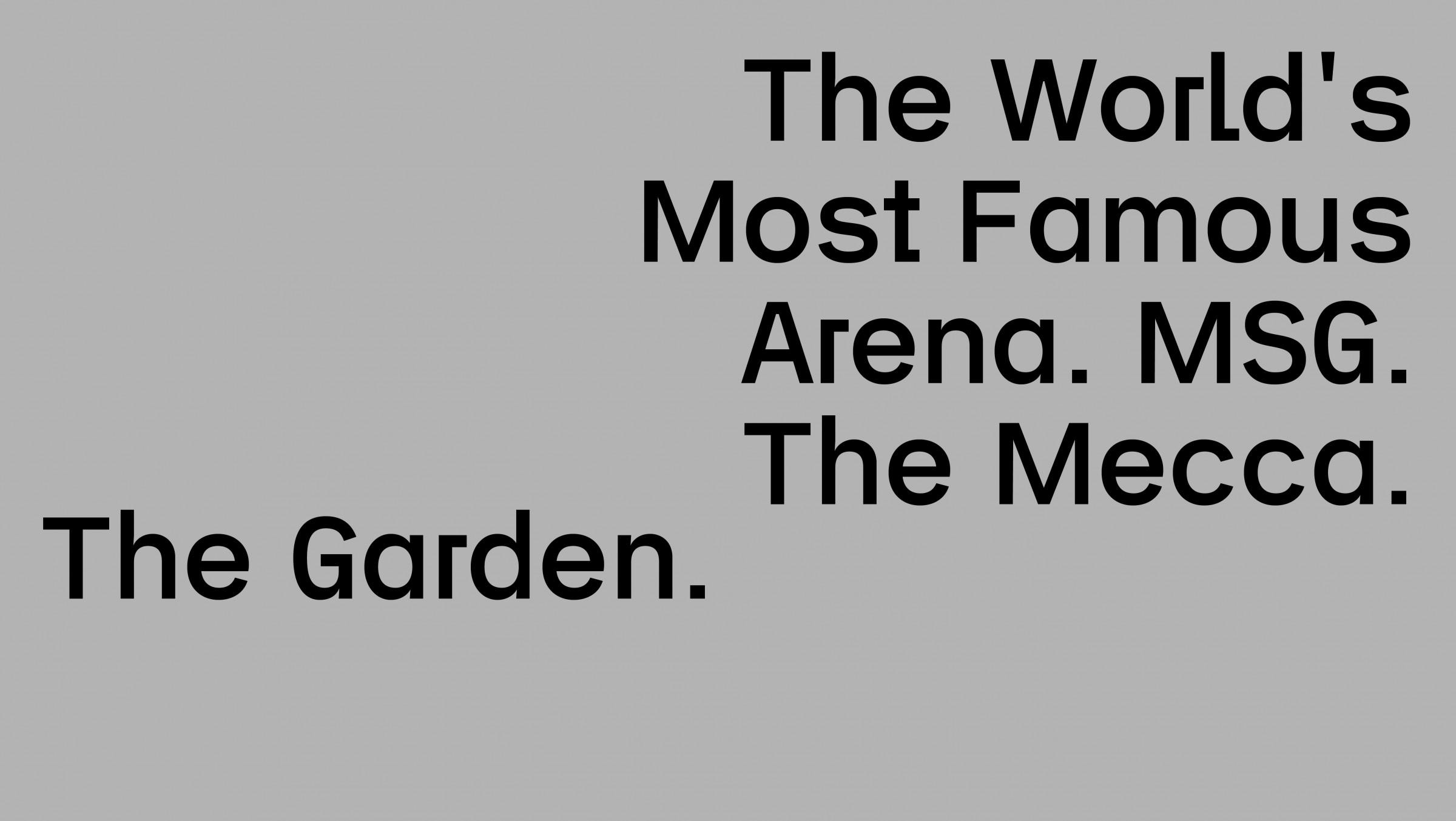WeShouldDoItAll — Garden
